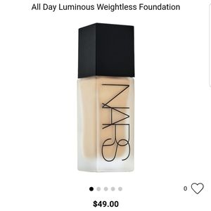 NARS ALL DAY LUMINOUS WEIGHLESS FOUNDATION